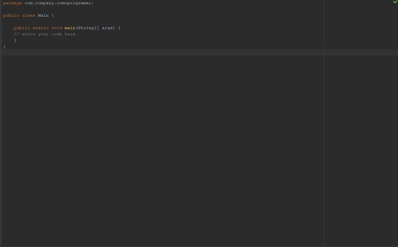 Estructuras principales de un programa en Java