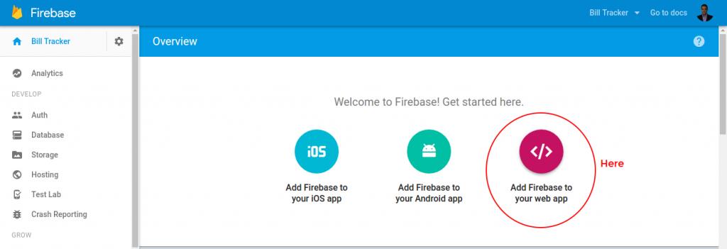 Ionic Firebase