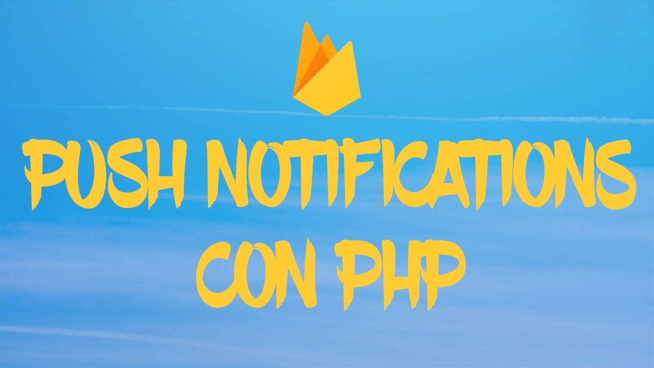 Notificaciones push ionic y php