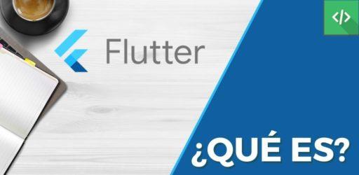 Qué es Flutter