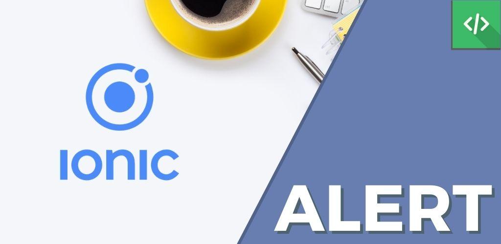 Alert Ionic