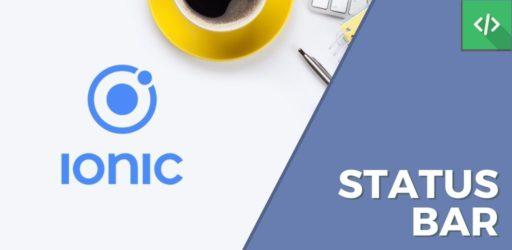 Status Bar Ionic