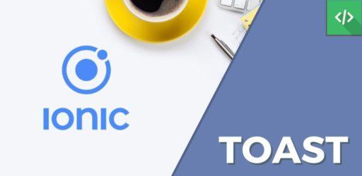 Toast Ionic