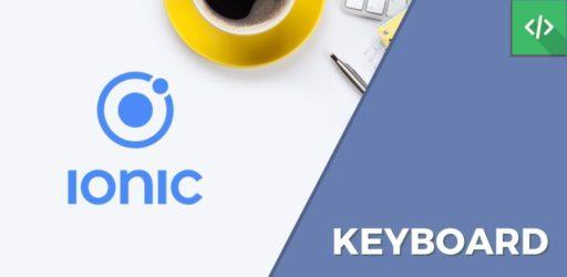Keyboard Ionic