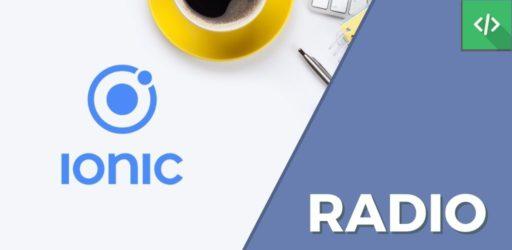 ion-radio Ionic