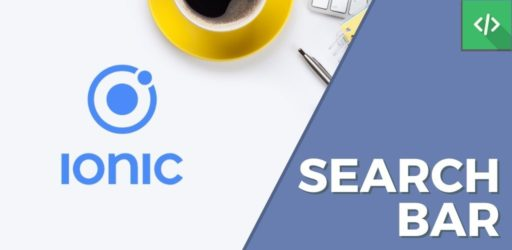 SearchBar Ionic