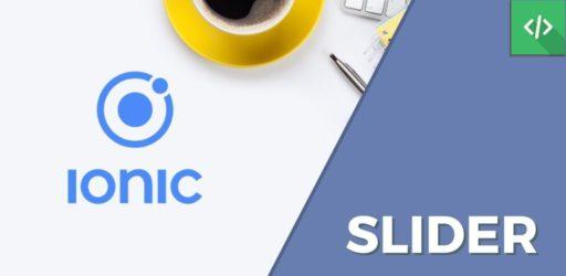 Slider Ionic